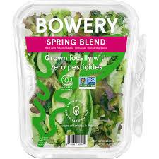 Bowery Farming Spring Blend Locally Grown - 4.5 oz pkg | $0.89/oz