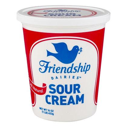 16 oz Friendship Dairies All Natural Sour Cream | $0.18/oz