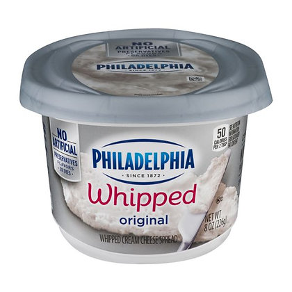 8 oz Kraft Philadelphia Original Whipped Cream Cheese Spread | $0.59/oz