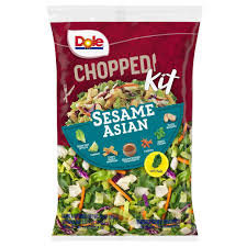 Dole Chopped Sesame Asian Salad Kit - 13.6 oz | $0.28/lb