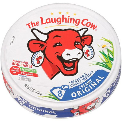 8 ct The Laughing Cow Spreadable Cheese Wedges | $0.62/oz