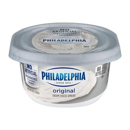 8 oz Kraft Philadelphia Cream Cheese Spread   $0.59/oz