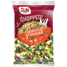 Dole Chopped Salad Kit Chipotle & Cheddar - 12.9 oz | $0.29/oz