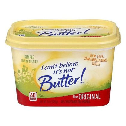 15 oz I Can't Believe It's Not Butter! Buttery Spread | $0.26/oz