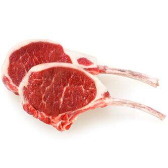 3/4 lb Australian Lamb Rib Chops All Natural 3-5ct | $17.49/lb