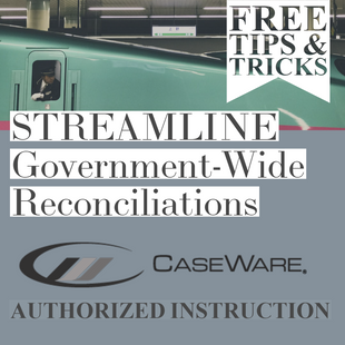Streamline Your Government-Wide reconciliations | Tips & Tricks