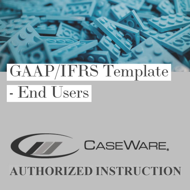 GAAP/IFRS Template - End Users