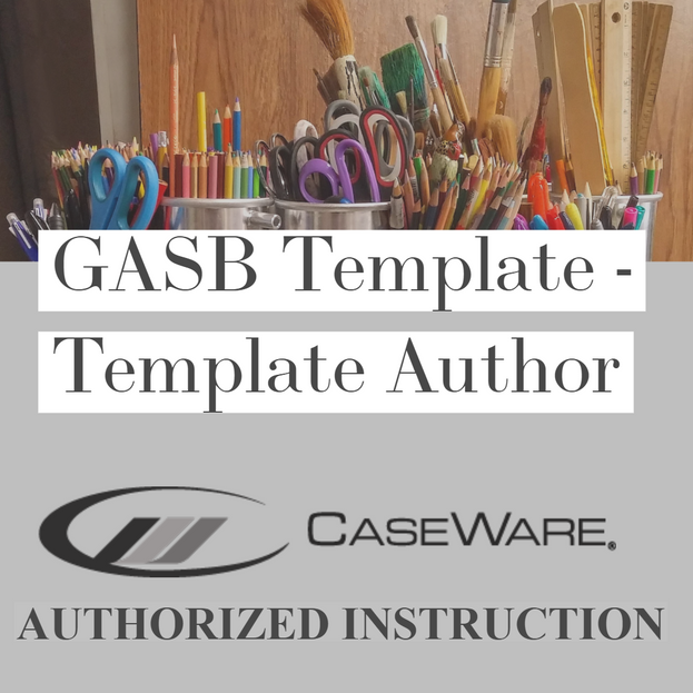 GASB Template - Template Author