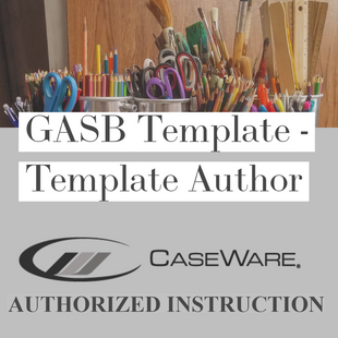 CaseWare's GASB Financials template | Template Authors