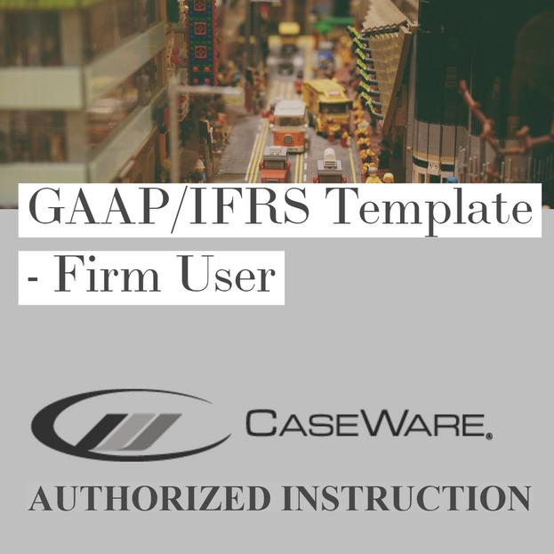 GAAP/IFRS Template - Firm User