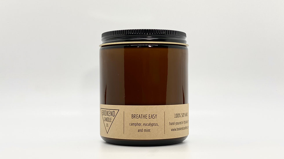 Breathe Easy Soy Candle