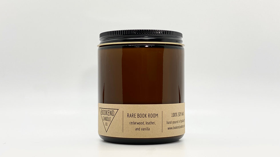 Rare Book Room Soy Candle