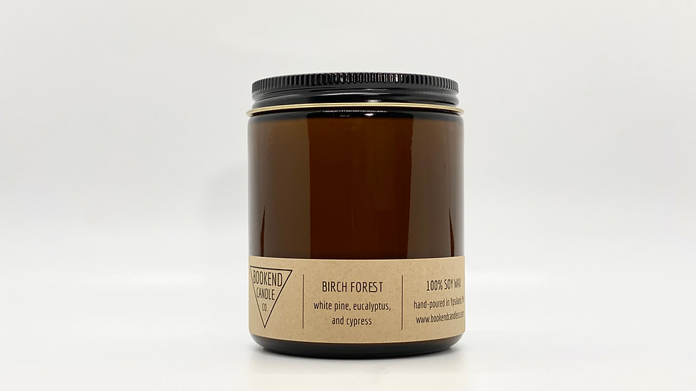 Birch Forest Soy Candle