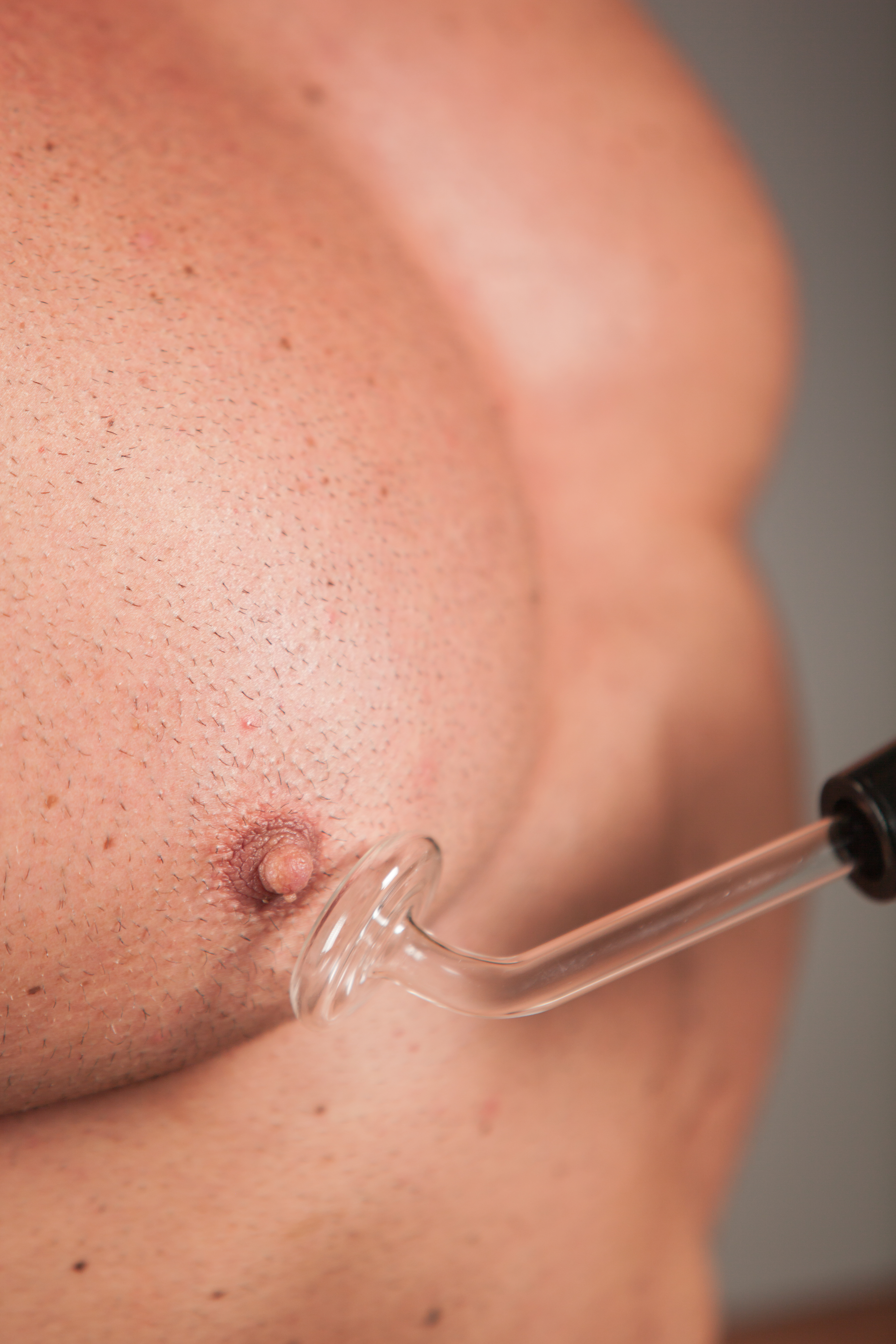 Violet Wand to Nipple