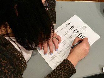 A Private Calligraphy Workshop
