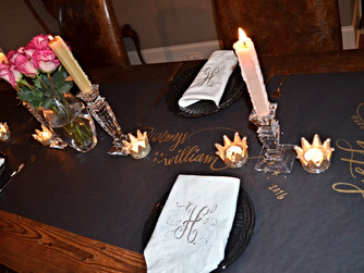Our NYE + DIY Table Runner