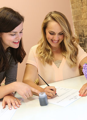 Gift Certificate for Private Calligraphy or Brush Lettering Lesson