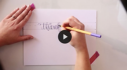 Learn to Fake Calligraphy with Beth Hunt Calligraphy