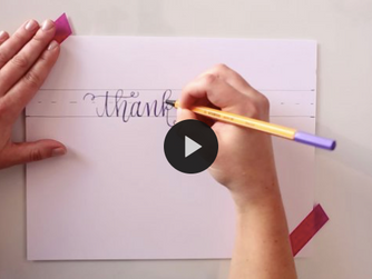 Take Our New Online Calligraphy Courses!