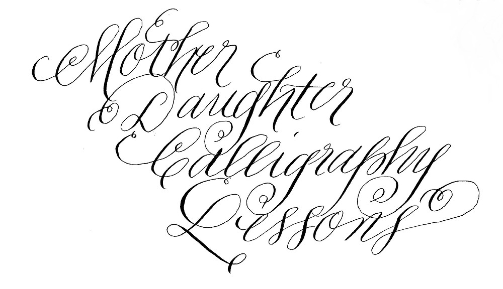 Mother Daughter Calligraphy Lessons.jpeg