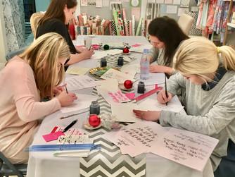 Jackson MS Calligraphy Workshops