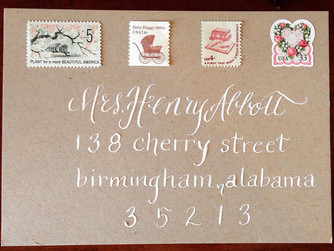 Welcome to Beth Hunt Calligraphy!
