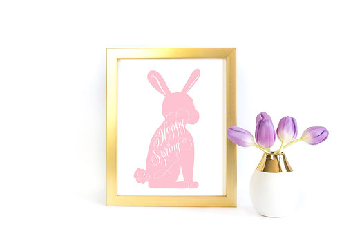Hoppy Spring Printable