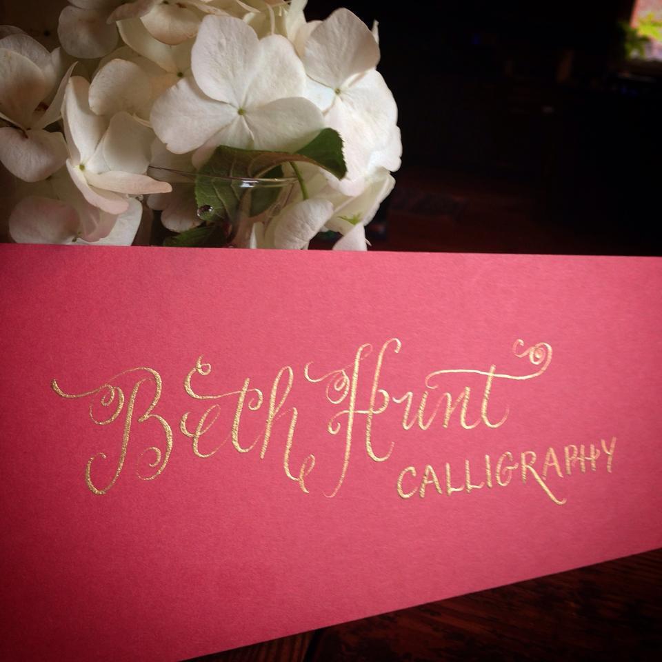 Beth Hunt Calligraphy in Gold.jpg