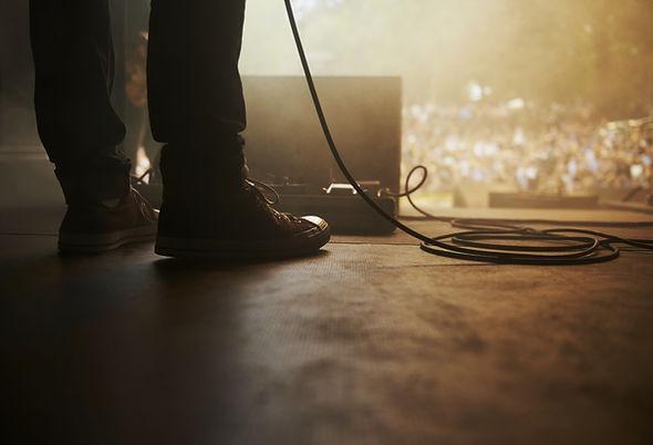 ステージ上