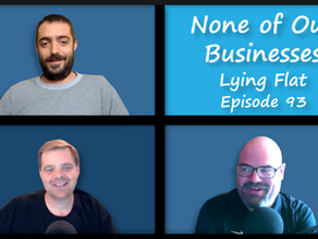 NOB 93: Staff Are Leaving, Lying Flat, R&D Tax Credit, Virgin Galactic Grounded