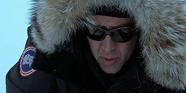 Николас Кейдж в Canada Goose