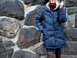 Финский женский пуховик