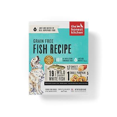 Honest Kitchen GF Fish Recipe