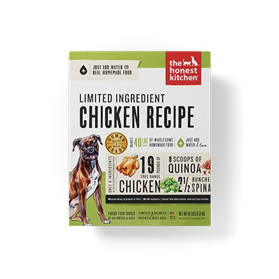 Honest Kitchen LID Chicken Recipe