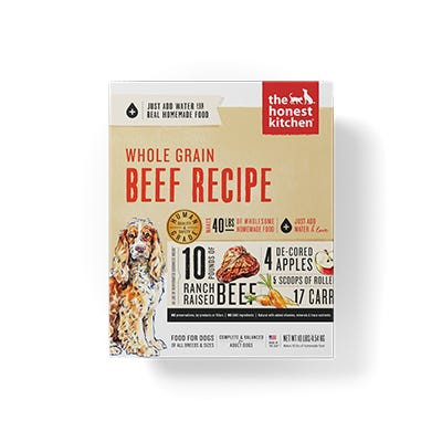 Honest Kitchen Whole Grain Beef Recipe
