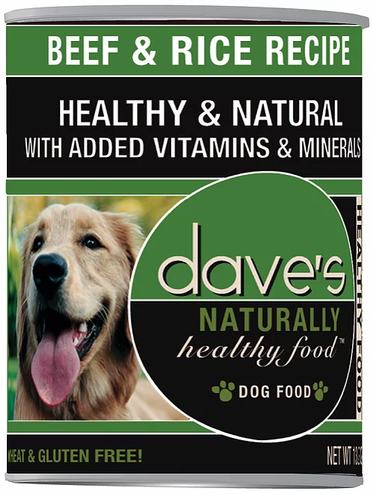 Dave's Naturally Beef & Rice