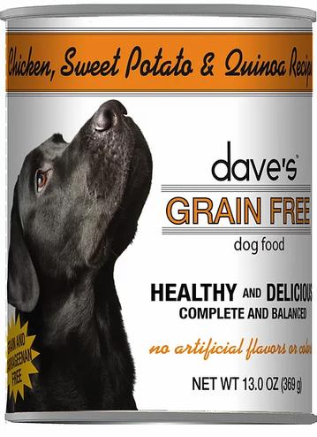 Dave's Chicken, Sweet Potato & Quinoa