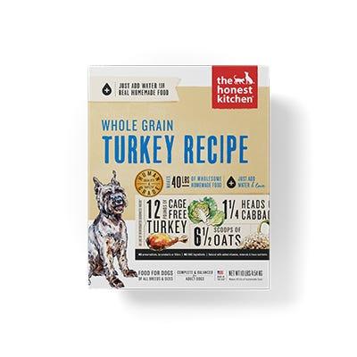 Honest Kitchen Whole Grain Turkey Recipe