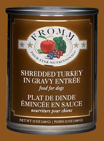 Fromm Shredded Turkey Can
