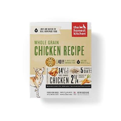 Honest Kitchen Whole Grain Chicken Recipe