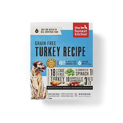 Honest Kitchen GF Turkey Recipe