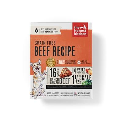 Honest Kitchen GF Beef Recipe