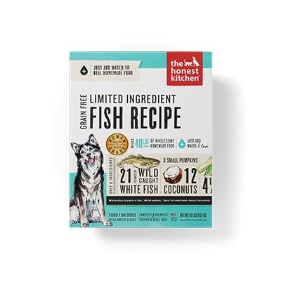 Honest Kitchen LID Fish Recipe
