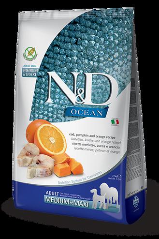 N&D Pumpkin Cod & Orange