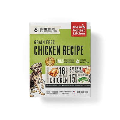 Honest Kitchen GF Chicken Recipe