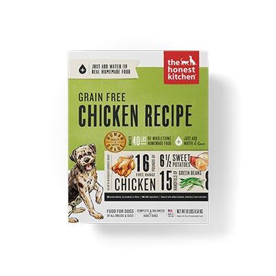 Honest Kitchen GF Chicken Recipe