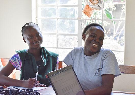 Zambian Schoolgirls