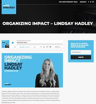 7. Hope Strategy Podcast x Lindsay Hadle