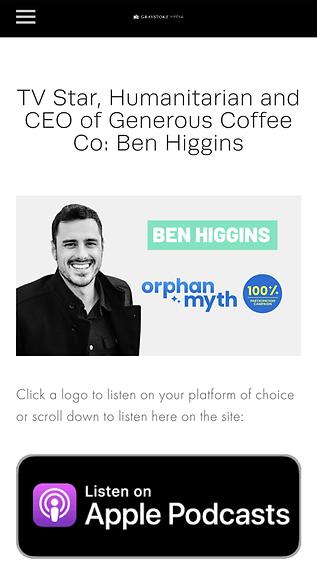 Innovation and Leadership X Ben Higgins.