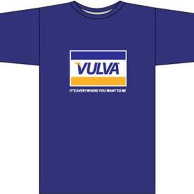 VULVA t-shirt (navy)